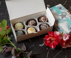 The Truffle Shop 6 box chocolate truffles