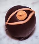Hazelnut Peanut Butter Chocolate Truffle
