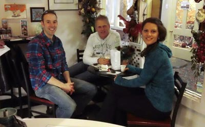 The Truffle Shop - the perfect place to meet friends and have chocolate truffles and coffee
