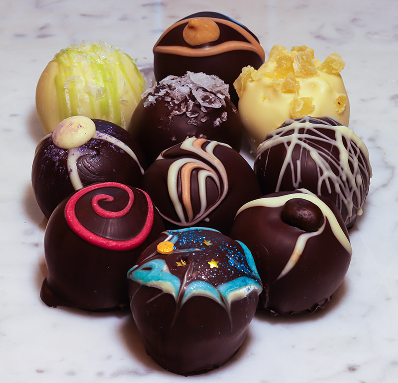 The Truffle Shop - Chocolate Truffles. New flavors