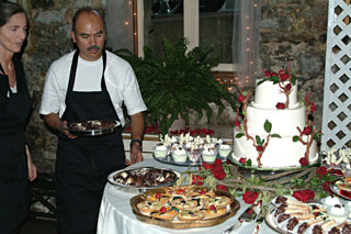 Chocolate Dessert Catering at the Miner's Foundry in Nevada City, CA