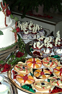 Custom gourmet Chocolate Dessert creation catering by the Truffle Shop in Nevada City, CA