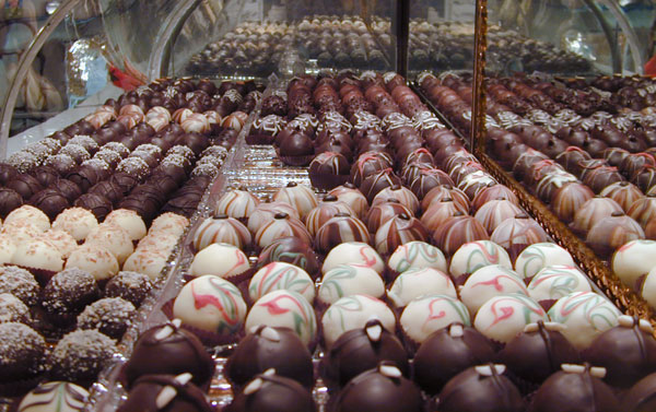 The Truffle Shop Chocolate Truffles Case